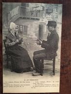 """CPA, Occitan - Patois, Folklore, Couple, Coiffes, En Périgord, (24) """"cela T'ennuie Pierre...Co T'einoio"""" éd PAC N°47 - Non Classés"""