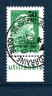France 2020.50 Ans De L'imprimerie Des Timbres Poste De Boulazac.cachet Rond Gomme D'Origine - Used Stamps