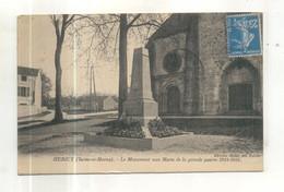 Hericy, Le Monument Aux Morts - Altri Comuni
