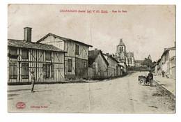 Chavanges Rue Du Bois Carte En L'état Pli - Autres Communes