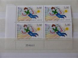 France.bloc De 4 Numéroté Du N° 3059 Philexjeune 97 N**. - Unused Stamps