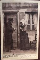 """CPA 1933, Occitan, Folklore, Couple, Tenues, Coiffes, En Périgord, (24) """"Notre Trouio...Notre Truie..."""" éd Hirondelle 29 - Non Classés"""