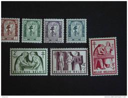 "België Belgique Belgium 1954 Antiteringzegels ""Verpleging"" Antituberculeuses "" Soins Infirmière Yv COB 998-1004 MNH ** - Unused Stamps"