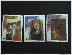 België Belgique 1989 Rode Kruis Croix-Rouge Schilderijen Tablaux Religieux Yv COB 2312-2314 MNH ** - Ongebruikt