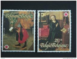 België Belgique 1991 Schilderijen Tableaux Jeroen Jerôme Bosch & Dirk Bouts Rode Kruis Croix-Rouge Yv 2398-2399  MNH ** - Ongebruikt
