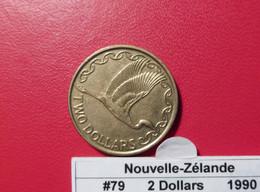 Nouvelle-Zélande 2 Dollars 1990 KM#79 - Nuova Zelanda