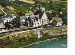 37 LA CHAPELLE SUR LOIRE Cpm L'Eglise Vue Aérienne - Autres Communes