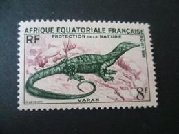 AEF N° 231  REPTILE  VARAN NEUF ** - Unused Stamps