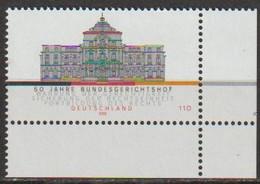 BRD 2000 MiNr.2137 ** Postfrisch 50 Jahre Bundesgerichtshof ( 3578/1 )günstige Versandkosten - Ongebruikt