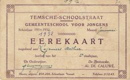 Temse - Erekaart - Carte D'honneur - Standbeeld Van Margareta Van Oostenrijk - 1932 - UNIEK - Temse