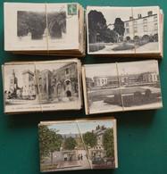 LOT 21-17 : LOT 500 CARTES. PAYSAGES, LIEUX, CHATEAUX DE  FRANCE QUELQUES PAYS ET SEMI-MODERNES FORMAT 9 CM X 14 CM - 500 Postcards Min.