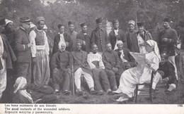 Les Bons Moments De Nos Blessés Infirmière Troupe Coloniale - Guerra 1914-18