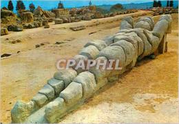 CPM Agrigento Restes Du Talamone Du Temple De Jupiter - Agrigento