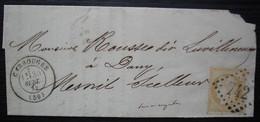Carrouges (Orne) 1872 Gc 742,demande De Paiement Suite Au Décès Du Notaire Neveu - 1849-1876: Classic Period