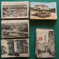 LOT 21-18 : LOT 500 CARTES. PAYSAGES, LIEUX, CHATEAUX DE  FRANCE QUELQUES PAYS ET SEMI-MODERNES FORMAT 9 CM X 14 CM - 500 Postcards Min.