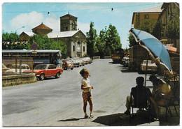 Piandelagotti (Modena). Veduta - La Chiesa - Auto, Car, Voitures. - Modena