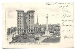 SAN FRANCISCO 1903 - Old Postcard En RELIEF - San Francisco