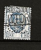 Italie Oblitéré N° 184 Perforé Lot 33-93 - Used