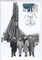 2019 10 01 Russia Space 2019-349 PCWCS Cartes Maximum Cards 1 Kozlov Designer Of Rocket And Space Technology Conquest Of - Cartoline Maximum