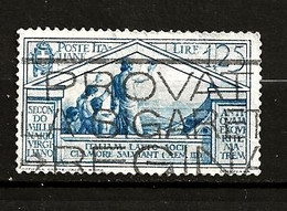 Italie Oblitéré N° 269 Lot 33-122 - Used