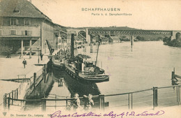 Schaffhouse - Envoi Vers La France 1902 - SH Schaffhouse