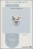 ETB 08/2003 SWK Staatsgalerie Stuttgart 1,80€ / Bamberger Reiter 2,00€ - FDC: Briefe