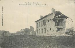 CPA 54 Meurthe Et Moselle La Guerre De 1914 Environs De Lunéville La Ferme De St Epvre - Andere Gemeenten