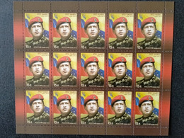 RUSSIA MNH (**)2014 The 1st Anniversary Of The Death Of Hugo Rafael Chavez Frias, 1954-2013 - Blocs & Hojas