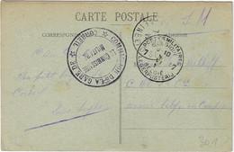 S.M.Le Commissaire Militaire Corbeil Poste Militaire Belge CPA Corbeil Le Pont - Belgisch Leger