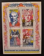 France/French Stamp 1989 N°BF12  Bloc Feuillé Piquage Oblique   ** TB  Cote MAURY 1150€ Signé CALVES - Ongebruikt
