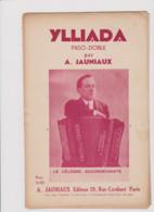 PARTITION ANCIENNE  YLLIADA  PASO DOBLE  ACCORDEON - Noten & Partituren