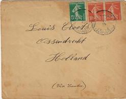 S.M. Postes Militaires Belgique 1915 Ossendrecht - Belgisch Leger