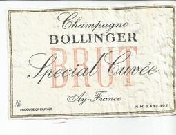 N3 / Wine Old Liqueur Alcohol LABEL Etichetta Etiqueta / Etiquette Alcool / CHAMPAGNE ROLLINGER - Champagne