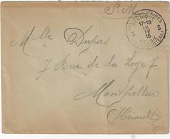 S.M. Postes Militaires Belgique België Legerposterij 1915 Front De L'Yser - Belgisch Leger