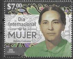 MEXICO, 2020, MNH, INTERNATIONAL WOMEN'S DAY, BENITA GALEANA,1v - Sonstige