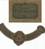 N3 / Wine Old Liqueur Alcohol LABEL Etichetta Etiqueta / Etiquette Alcool / CHAMPAGNE Louis KREMER - Champagne