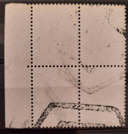 France/French Stamp 1962 N°1331 Bloc De 4 BdF Non Imprimé Avec Annulation ** TB  Cote MAURY 2400€ - Unused Stamps