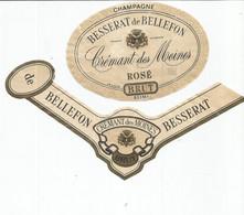 N3 / Wine Old Liqueur Alcohol LABEL Etichetta Etiqueta / Etiquette Alcool / CHAMPAGNE Besserat De Bellefon - Champagne