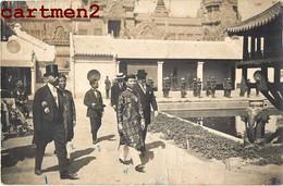 CARTE PHOTO : EMPEREUR D'ANNAM EXPOSITION COLONIALE MARSEILLE MINISTRE INTERIEUR LA-PHUONG ANNAMITE VIETNAM INDOCHINE - Vietnam