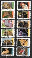 2017 - 175 - 1386 à 1397 - Les Animaux D'élevage - Used Stamps