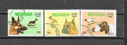 1982 Nicragua  Mich Nr° 2247,2250,2251 (o) - Nicaragua