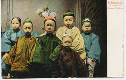 10999  -  SAN FRANCISCO : GROUPE D'ENFANTS CHINOIS - A Group Of Chinese Children   EN 1904 - San Francisco