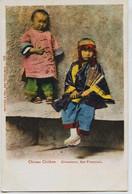 11001 -  U.S.A.  Chinese  Children  , Chinatown  , San Francisco  En  1904 - San Francisco