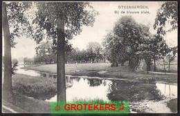 STEENBERGEN Bij De Blauwe Sluis Ca 1910 - Other