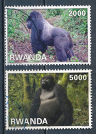 °°° RWANDA - Y&T N°1347/48 - 2010 °°° - 1990-99: Oblitérés