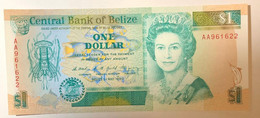 Belize 1 Dollar $ 01.05.1990 AA Prefix Prefisso AA Uncirculated Fds LOTTO 2456 - Belize