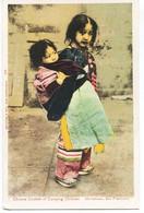 11005 -  U S A  -    Chinese Custom Of Carrying Children    , Chinatown  , San Francisco  En  1904 - San Francisco