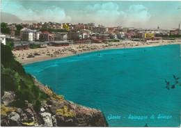 K4212 Gaeta (Latina) - Spiaggia Di Serapo - Panorama / Viaggiata 1963 - Other Cities