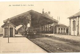 44 -  SAVENAY - La  Gare      294 - Savenay