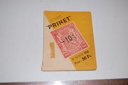 Revue Prinet Sur -10% 1948 - Matasellos